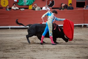 Peruvian bullfighter Fernando Roca Rey, <b>Tetracycline Uses</b>, Acho stadium, Lima, Nov. 2, 2008; photo c. Jorge Vera