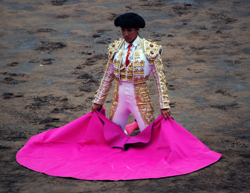 19-year-old Peruvian bullfighter Milagros Sanchez kneels in the sands of Acho, Nov. 1, <b>3 Day Of Flagyl For Cervicitis australia</b>, 2008; photo copyright Jorge Vera 2008