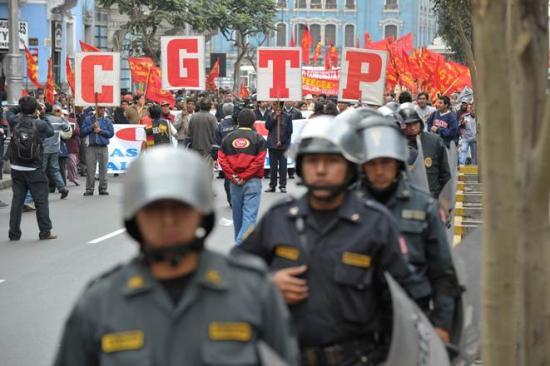 Natural Gas Export protests peru